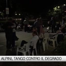 Con il Tango, rinasce Piazzale Alpini