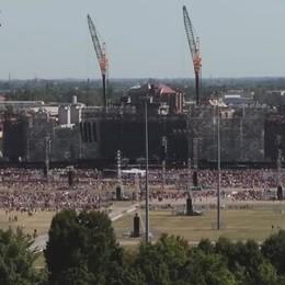 Il mega concerto di Vasco in 4 minuti