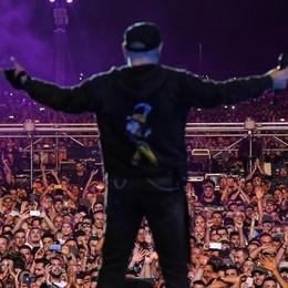Il mega concerto di Vasco in 4 minuti Guarda il video in timelapse della giornata