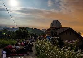 APERTURA DELL'OSSERVATORIO ASTRONOMICO