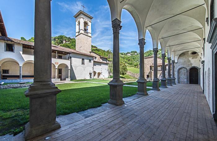 il monastero restituito mostra astino