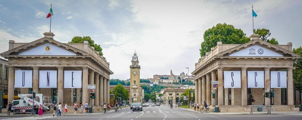Le Mura venete patrimonio dell'Unesco Tutta Bergamo festeggia – Foto e video