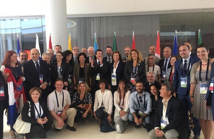 La delegazione delle 5 città a Cracovia