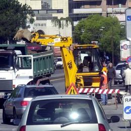 Agosto di cantieri a Bergamo Ecco le strade da evitare