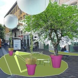 Porta Nuova si trasforma in «oasi» verde Ecco come sarà a settembre - Foto
