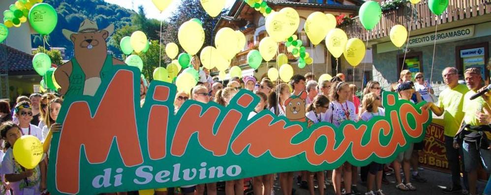 Non è estate senza la Minimarcia A Selvino grande festa lunedì 14
