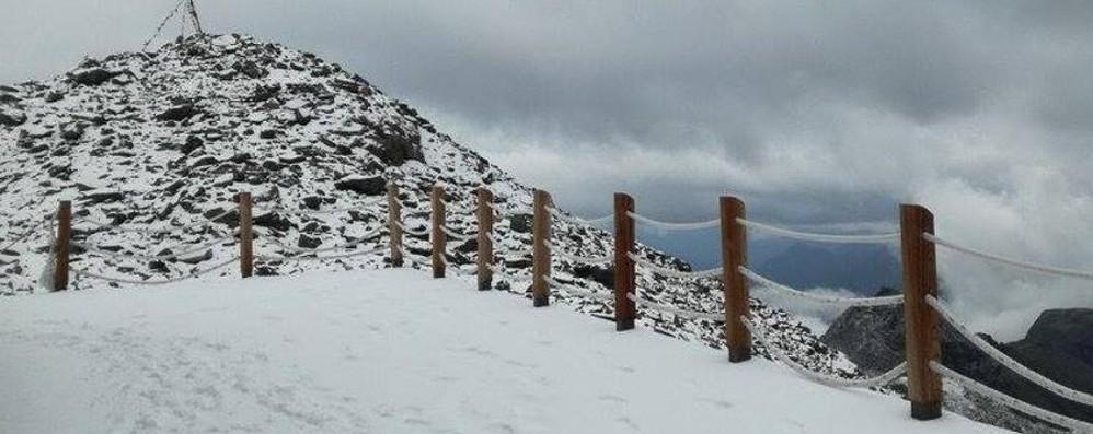 Trombe d'aria e molti danni in Veneto E in Valle d'Aosta la neve d'agosto