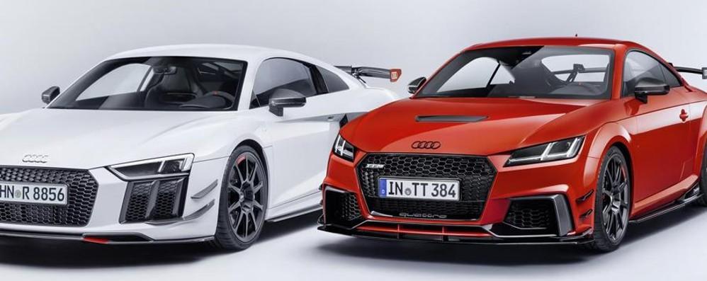 Personalizzazioni Audi Sport  per la R8 e la sportiva TT