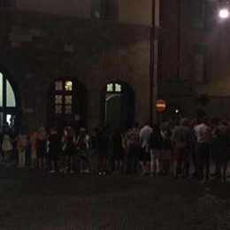 Ferragosto a Bergamo? Le foto Boom in Città Alta, code alla funicolare