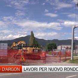 San Paolo d'Argon, lavori per nuova rotatoria al confine con Cenate Sotto