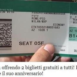 «Alitalia sta offrendo  biglietti gratis» La nuova (ennesima) bufala dell'estate