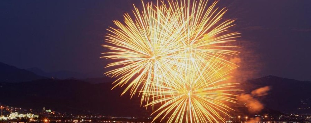 La magia dei fuochi di Santa Caterina Stasera la diretta sul sito e su Facebook