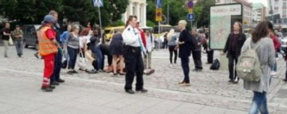 Finlandia, accoltella 8 persone al grido di «Allah Akbar», due morti
