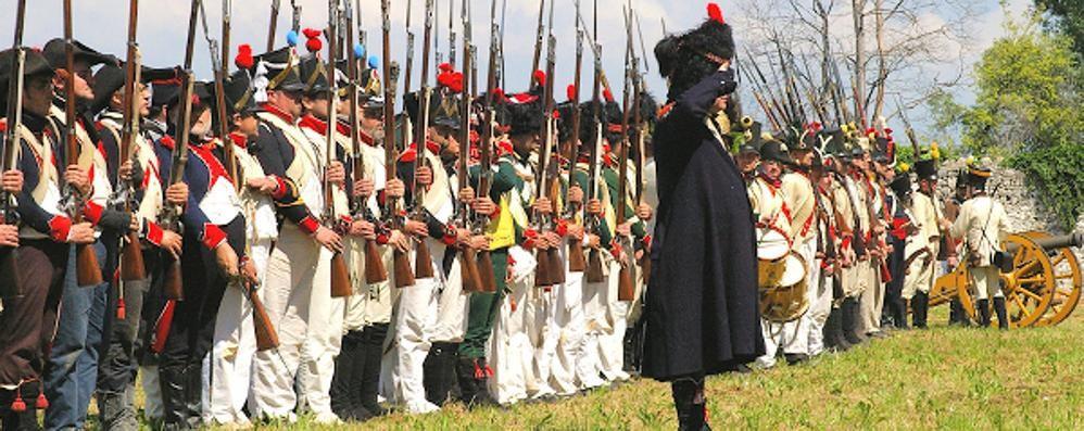 L'Armata di Napoleone nel Borgo di Bard Il 2 e 3 settembre, la rievocazione storica