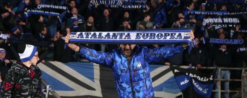Sale l'attesa per Atalanta-Roma Le «quote» danno favoriti i giallorossi