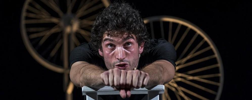 A Lurano Gimondi «Una vita a pedali»