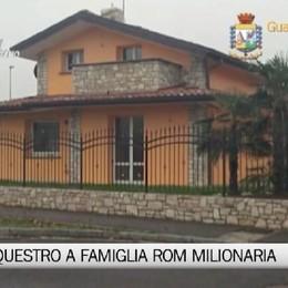 Clan rom nullatenente ma milionario Sequestrati beni per oltre 1 milione    .