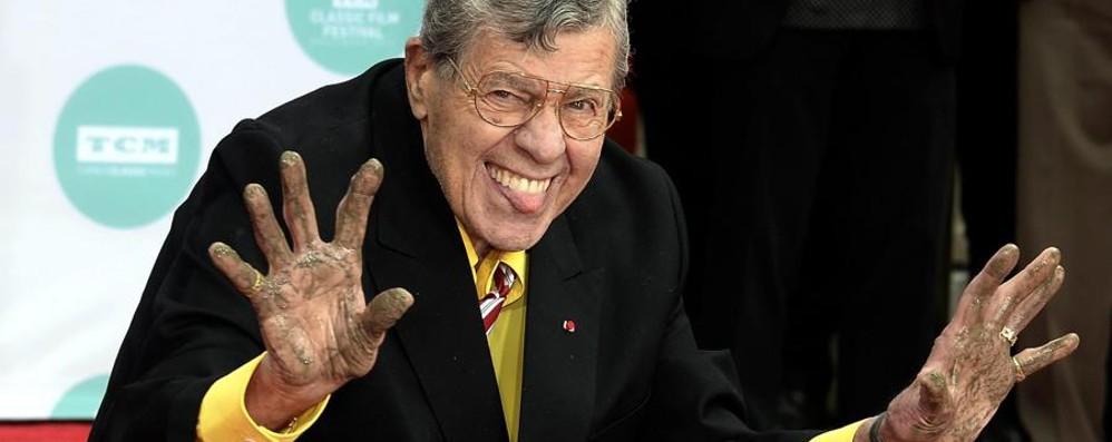 Addio a Jerry Lewis, il «picchiatello»  Una leggenda della comicità