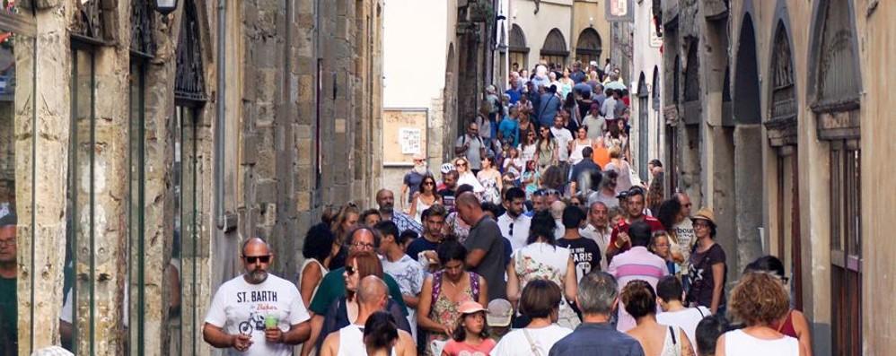 Effetto Unesco per il turismo orobico Bergamo, agosto con boom di presenze