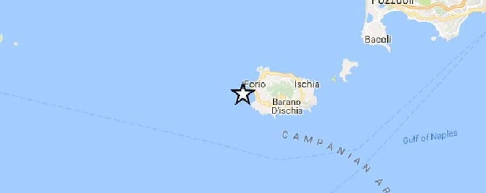 Scossa di terremoto avvertita ad Ischia Black out, paura e gente in strada