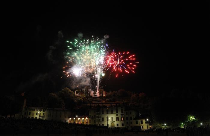 Fuochi d'artificio a Sant'Alessandro