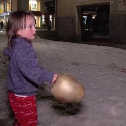 È arrivata la neve d'agosto - Video A Livigno il centro è imbiancato