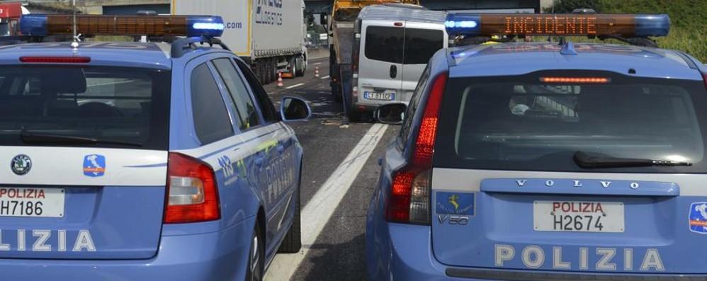 Incidente in A4, coinvolta un'auto Code tra Bergamo e Dalmine