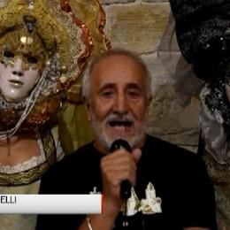 Le maschere di Franz Cancelli   Rendono magica Piazza Vecchia