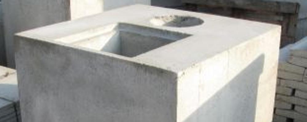 In arrivo cinque blocchi di cemento Sant'Alessandro, Sentierone «blindato»