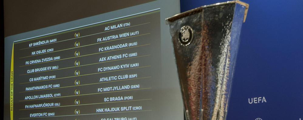 Europa league, Atalanta in terza fascia Tutto quello che c'è da sapere sui sorteggi