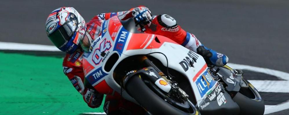 MotoGp, Dovizioso vince a Silverstone Valentino Rossi terzo, fuori Marquez