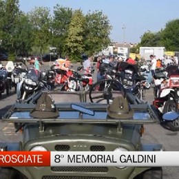 Scanzo, motoraduno memorial Galdini