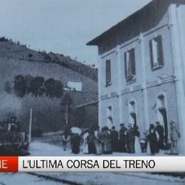 Clusone, 50 anni fa l'ultima corsa del treno della Val Seriana