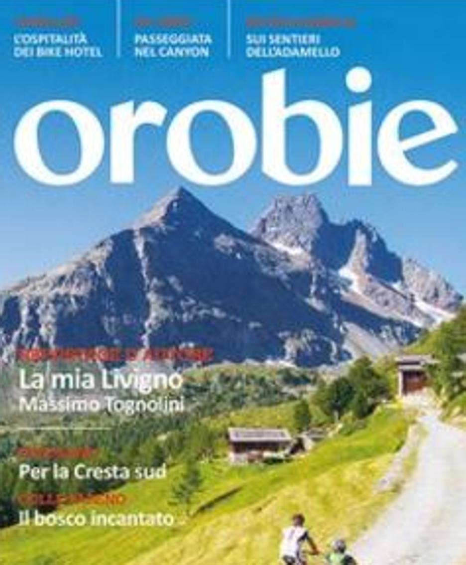 «Orobie» di settembre in edicola
