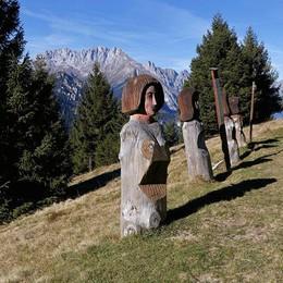 Il «Sentiero del bosco incantato» Valle Seriana, tra gnomi e leggende