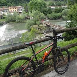 Percorsi dove osano solo i «pirati» Le ciclabili dell'alta Valle Seriana