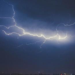 Ultime ore di bel tempo sulla Bergamasca Arriva la pioggia, rischio temporali forti