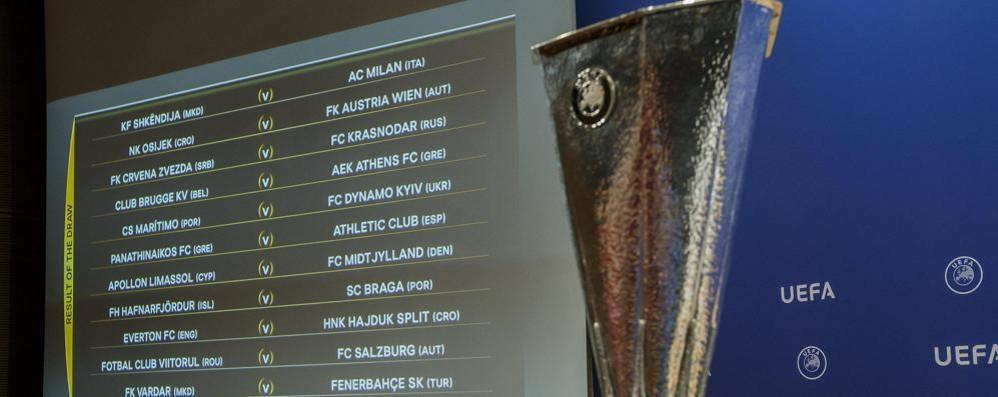 Europa League, fuori altre 29 squadre   L'Atalanta è 127ª nel ranking Uefa