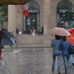 Martedì torna il maltempo Forti temporali sulla Bergamasca