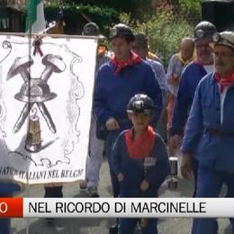Nembro, il ricordo della tragedia di Marcinelle