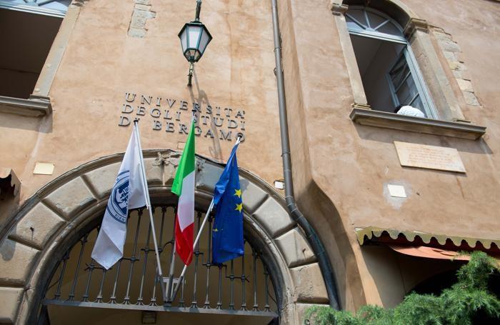 Bergamo - Palazzo Suardi sede dell'Università degli Studi