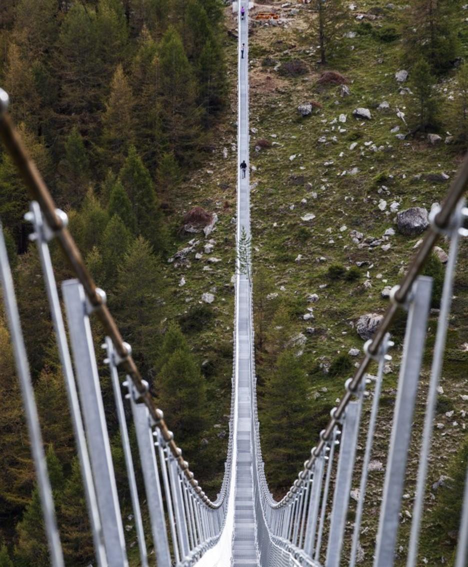 il ponte sospeso più lungo del mondo