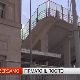 Stadio di Bergamo, firmato il rogito