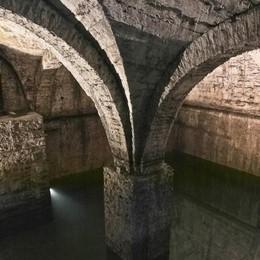 Città Alta, riapre la fontana del Lantro Uno scrigno d'acqua in via Boccola