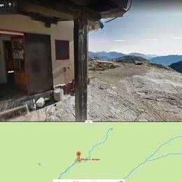 In montagna con un click (di Street View) Ora ci sono sentieri e rifugi delle Orobie