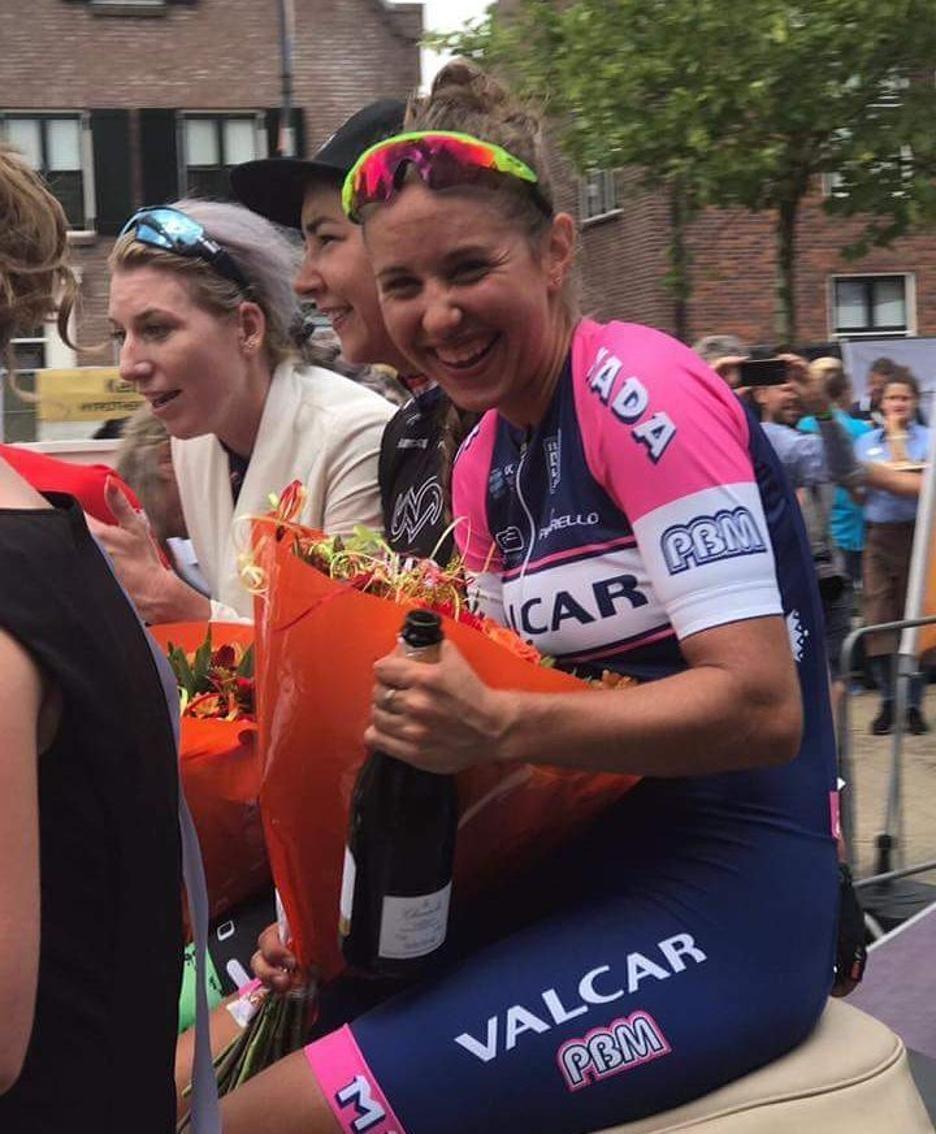 Silvia Persico dopo la vittoria