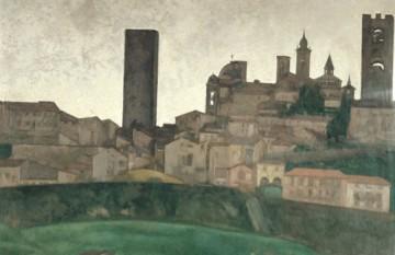 ART UP: VEDUTA DI BERGAMO ALTA DA VALVERDE
