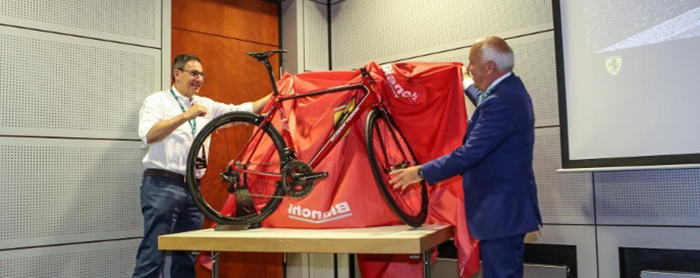 Bianchi-Ferrari, meraviglia su due ruote   Nata dall'incontro di due miti italiani