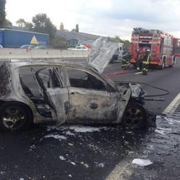 Incidente in autostrada Code tra Trezzo e Dalmine