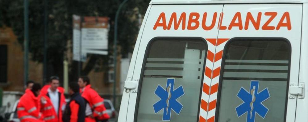 Torre Boldone, grave incidente  Tre feriti e traffico in tilt sulla provinciale